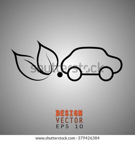 ecology car concept  green car