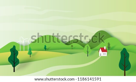 ecology concept and nature