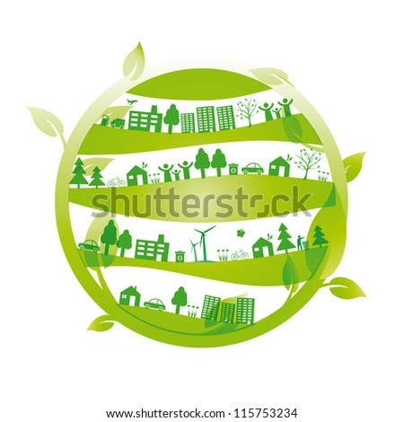 Ecology concept you can use on Earth Day