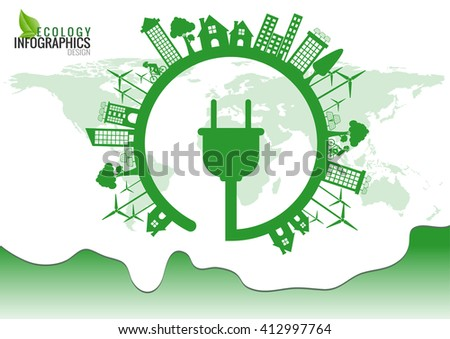 stock-vector-ecology-connection-electric