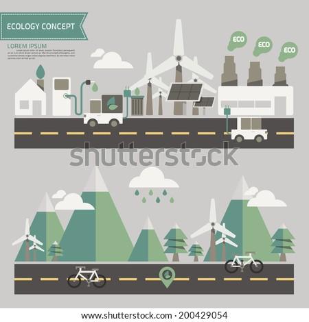 ecology environment concept