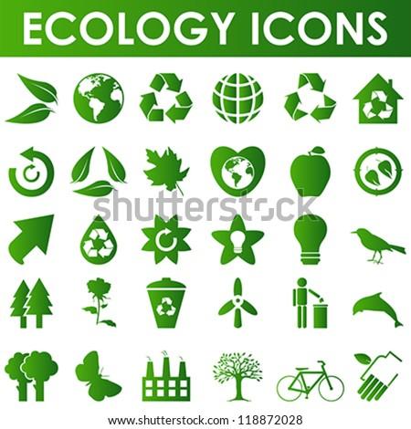 ecology icons