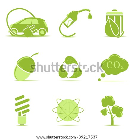 Ecology icons set 2