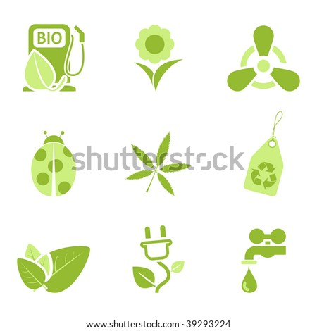 Ecology icons set 3