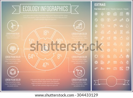 ecology infographic template
