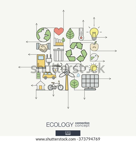 ecology integrated thin line