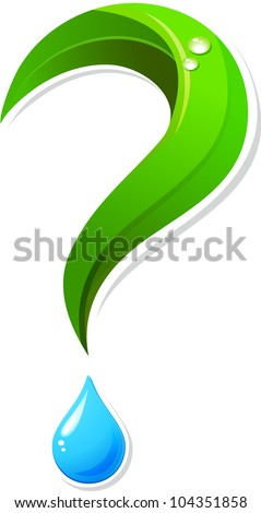 Ecology question mark icon