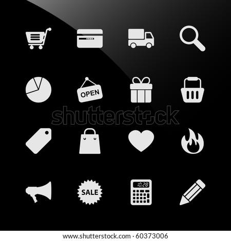Ecommerce Shopping Web Icons