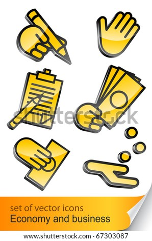 economic and business icon vector illustration isolated on white background