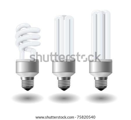 Economic light bulb set eps10