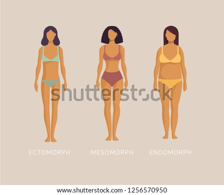 5ec4d896a Set of figures of different weight - Download Free Vector Art