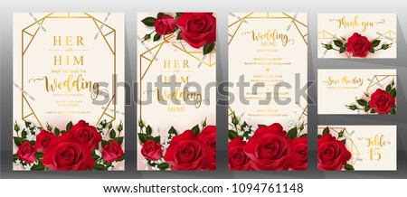 edding invitation card