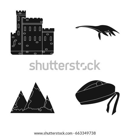 edinburgh castle  loch ness
