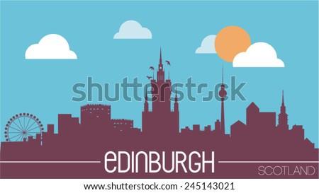 edinburgh scotland skyline