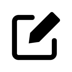 edit icon. pencil icon isolated sign symbol vector illustration - vector