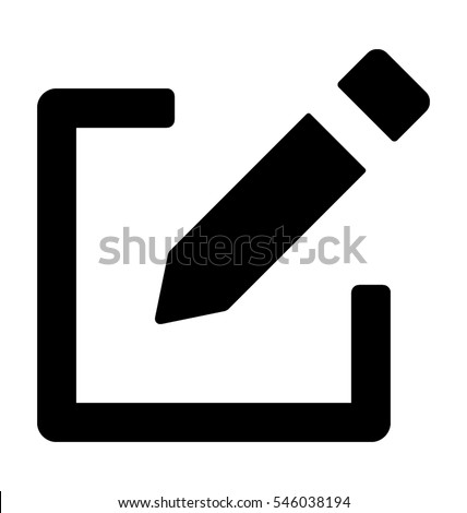 Edit Vector Icon