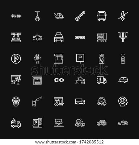editable 36 auto icons for web
