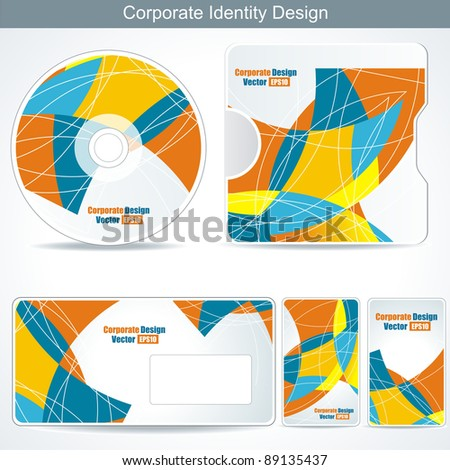 Editable corporate Identity template
