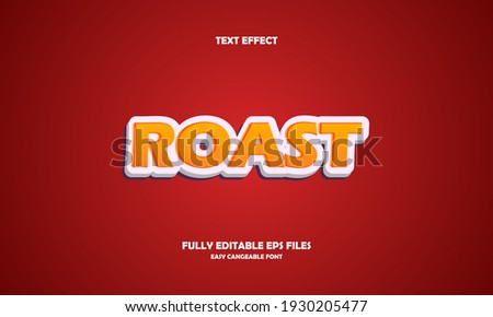 Editable 3D Text Effects Template Stock photo ©