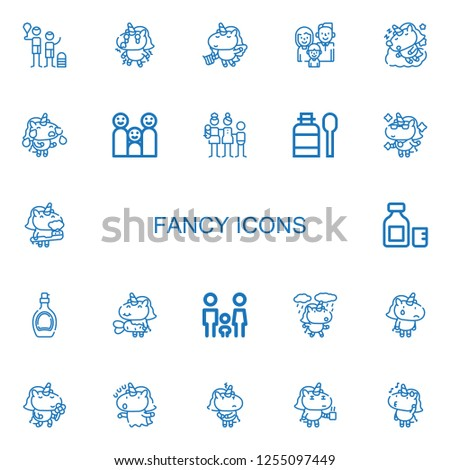 editable 22 fancy icons for web