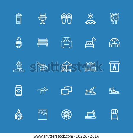 editable 25 relax icons for web