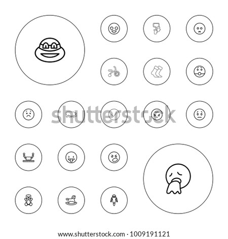 editable vector cute icons