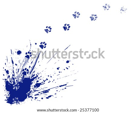 Cat Paw Print Tattoos, Kitty Cat tattoo pictures of Kitty Cat style tattoos