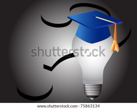 education and knowledge symbol - stock vector