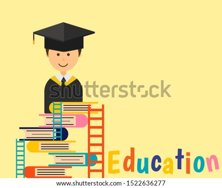 education concept  there are