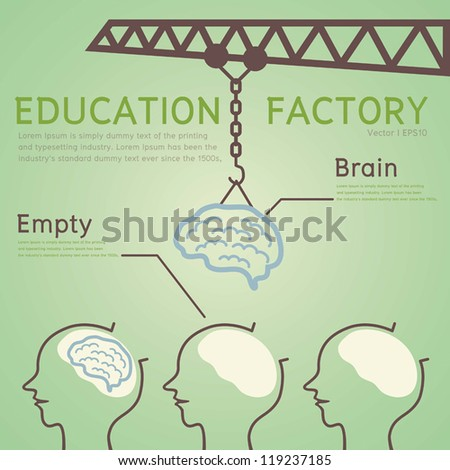 Education Concept, Vector