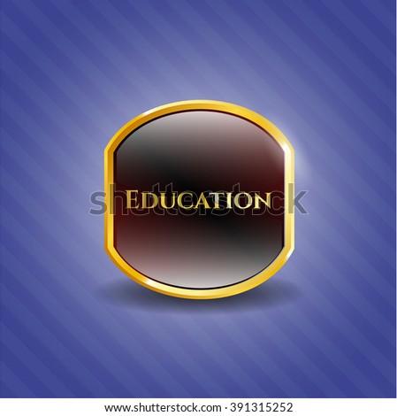 Education gold badge
