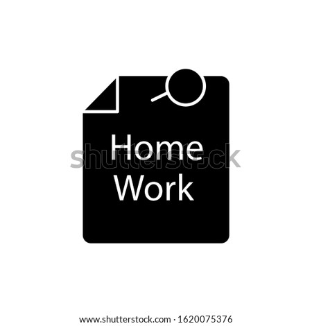 Education, homework icon. Simple education icons for ui and ux, website or mobile application