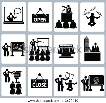 Education Icon set,and resource,Vector