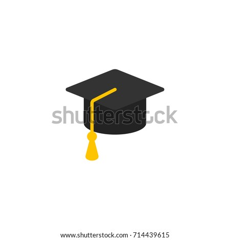 Education Icon Vector Isolated