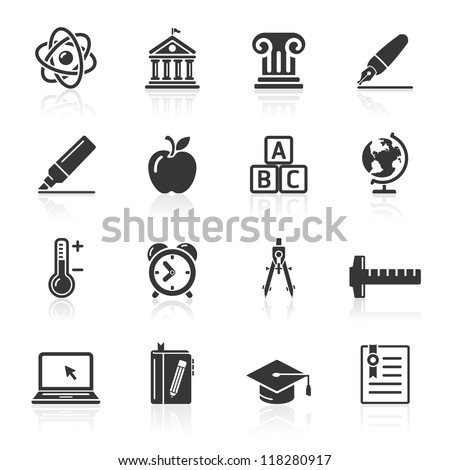 Education Icons set 2. Vector Illustration. More icons in my portfolio.