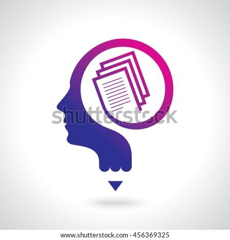 Education idea logo,Vector Logo template.