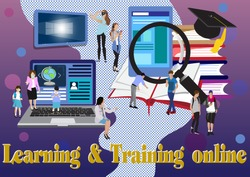 Education is the key to unlocking potential for a better future. how to connect with students through effective communication and teaching techniques. Reach people everywhere vector illustration