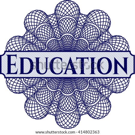 Education linear rosette