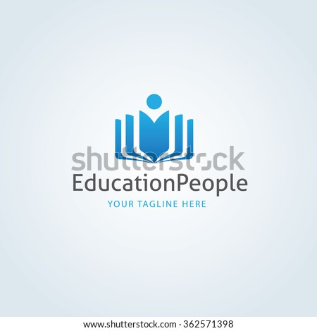Education Logo,Learning logo,People logo,vector logo template