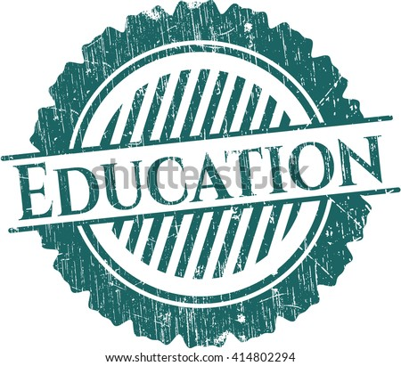 Education rubber stamp