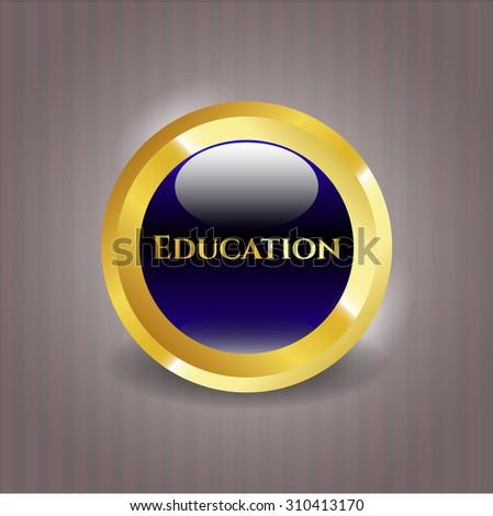 Education shiny emblem