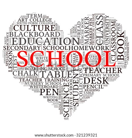 education tag word cloud