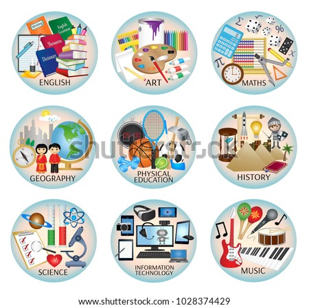education web icons