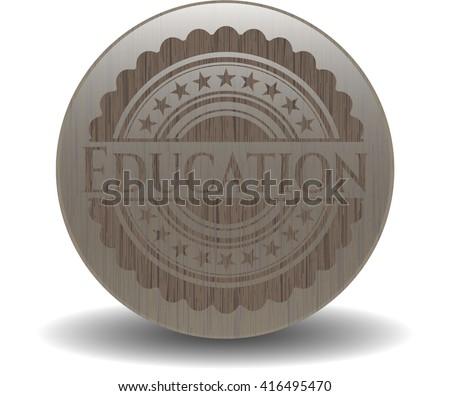 Education wood emblem