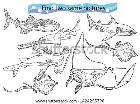 Shark Coloring Pages – coloring.rocks! | 335x450