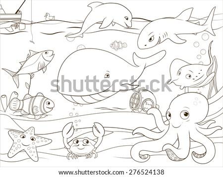 educational game coloring book