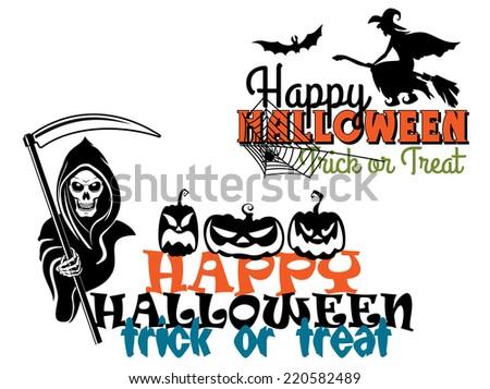 eerie happy halloween posters
