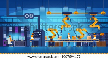 efficient smart factory with...