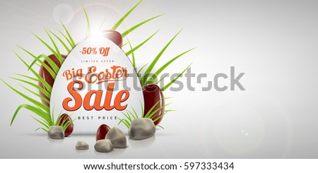 egg shaped easter big sale