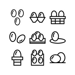 Eggs angger icon or logo isolated sign symbol vector illustration - Collection of high quality black style vector icons